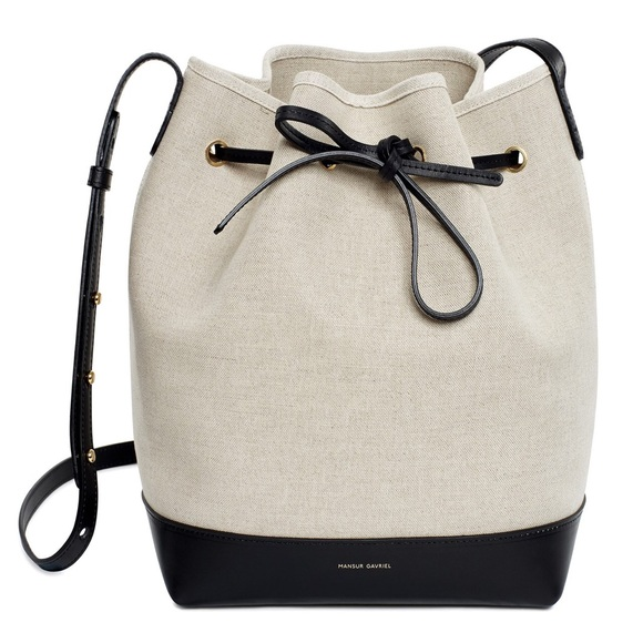 ca1d58ee167e Mansur Gavriel Bags | Sold Bucket Bag Canvas | Poshmark